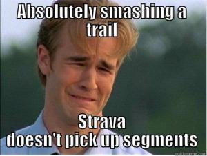 strava doesn't pick it up